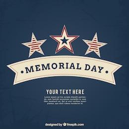 Fundo para o Memorial Day