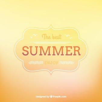 Fundo para o verão