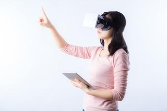 Gadget de simulação logotipo digitais internet