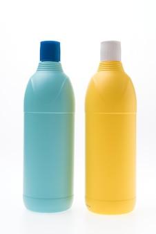 Garrafa de plástico em branco