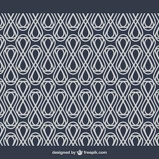 Geometria abstrata fundo arabesco