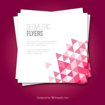 Flyers geométricos