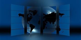 Globalização terra notícias globo continentes mundial