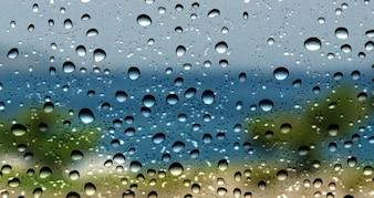 Gotas de água fundo da textura