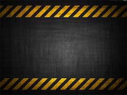 grunge fundos perigo de construção