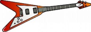 guitarra Flying V