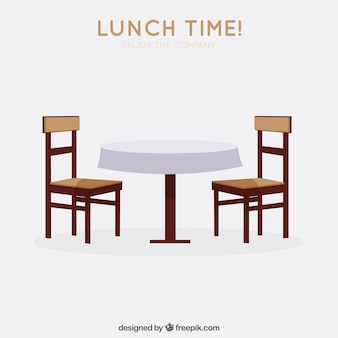 Hora do almoço!