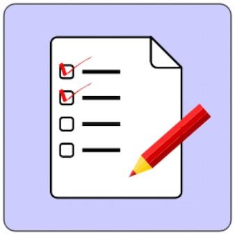 ícone checklist