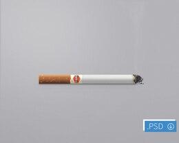 ícone cigarro recursos psd