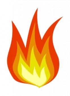 ícone de fogo