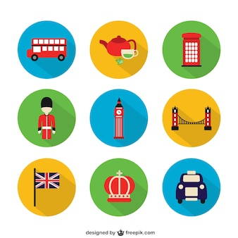 Ícones de Londres