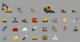 ícones do tema construção