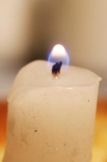 igreja luz de velas