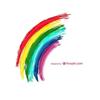Ilustração do vetor do arco-íris