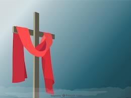 Ilustração em vetor santa cruz