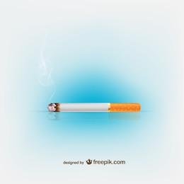Ilustração vetorial cigarro