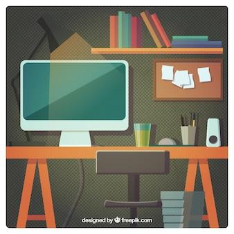 Ilustração Workplace