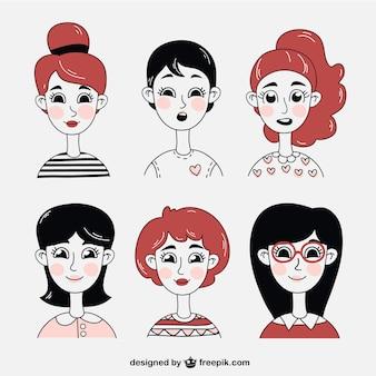 Ilustrações Mulheres
