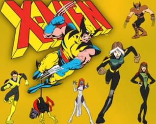 ilustrações vetor x-man