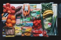 Ingredientes saudáveis da refeição