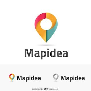Inspirado Mapa logos