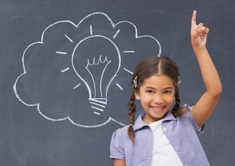 Instalação de tecnologia de retenção de educação levantada