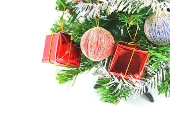 Inverno flora ramo celebração vermelho