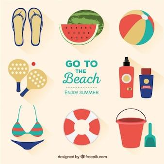 ir à praia