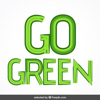 Ir rotulação verde