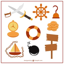 Itens piratas definido