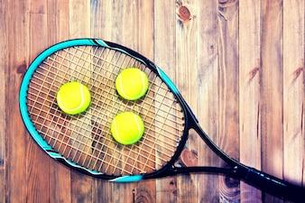 Jogo de tênis.