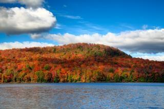 Lac Stukely hdr foto