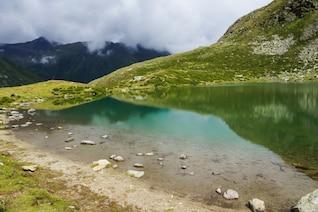 Lago no topo