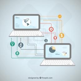 Laptops infográfico