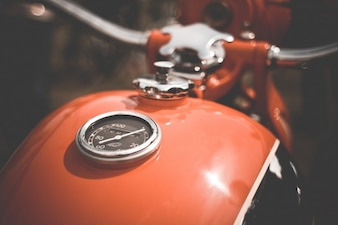 Laranja do tanque de combustível