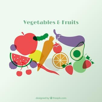 Legumes e frutas