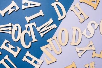 Letras do alfabeto inglês