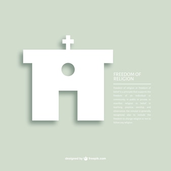 Liberdade de religião modelo de mensagem