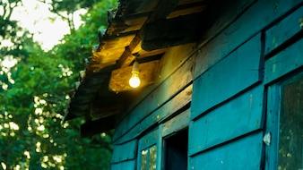 Linda casa na estação do monte