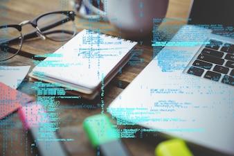 Linguagem de programação no local de trabalho