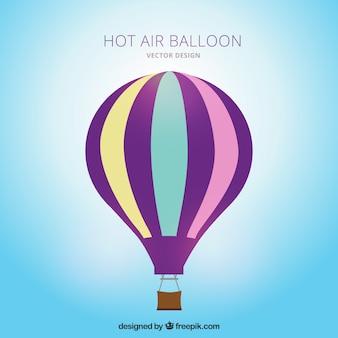 Listrada de balão de ar quente