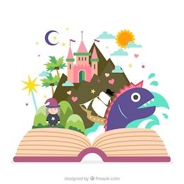 Livro do conto de fadas
