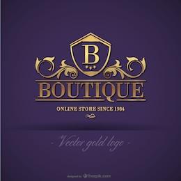 Logo design boutique ouro