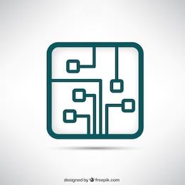 Logotipo da placa de circuito