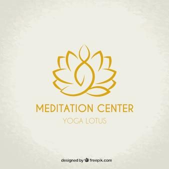 Logotipo do centro de meditação