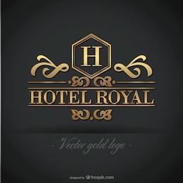 Logotipo Golden Hotel gráficos livres