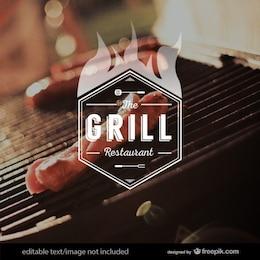 Logotipo Grill
