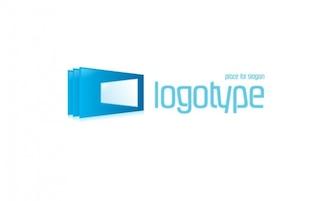 Logotipo lugar logotipo para slogan