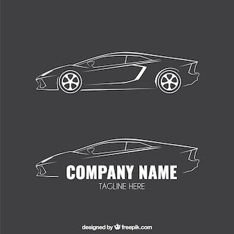 Logotipos do carro