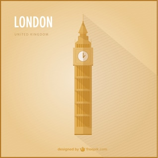 London marco vetor